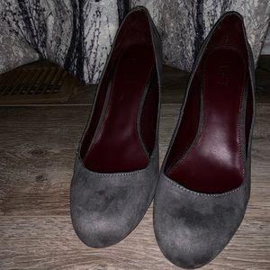 Loft Grey Heels 👠